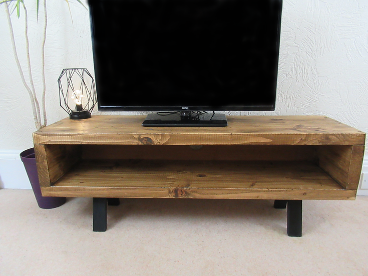 570:Tv stand enclosed back with cable tidy large sizes up to 65 inch tv's