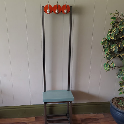 645  : Coat stand narrow hallway stand coat rack slim