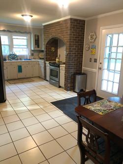 Kitchen training area