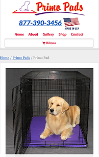 durable dog pads for crates - Primo Pads