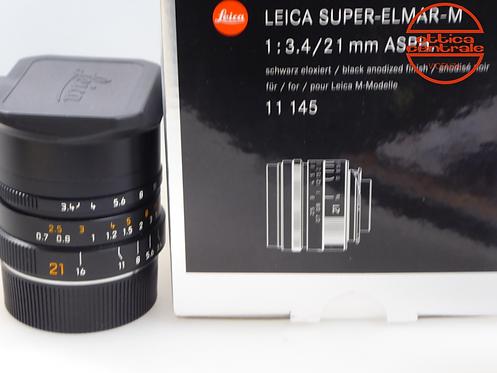 Obiettivo LEICA SUPER-ELMAR-M 21/3,4 ASPH
