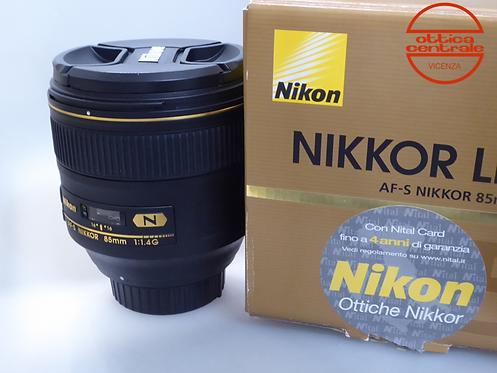 Obiettivo NIKON AF-S 85 1,4G
