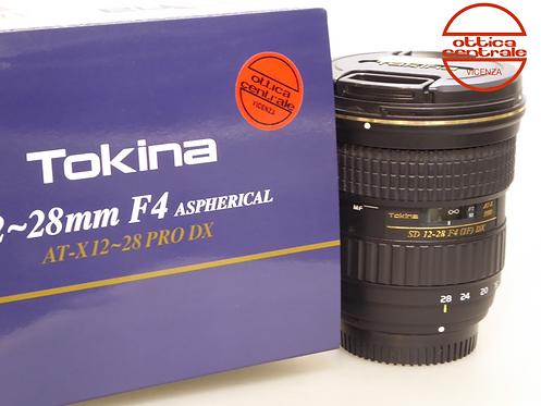 Obiettivo Tokina SD 12-28 4 IF DX per Nikon