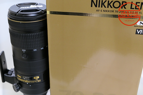 Obiettivo Nikon AF-S 70-200 2,8E FL ED N VR