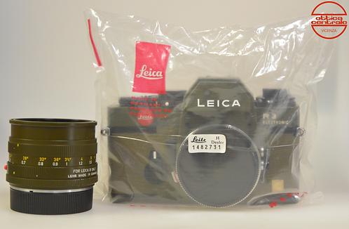 Fotocamera Leica R3 Safari + Obiettivo Leica Summicron-R 50 mm f/2.0