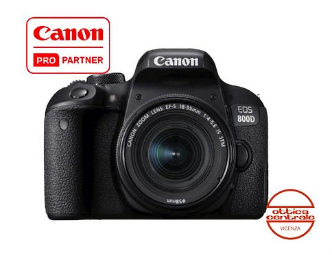 Canon 800D con 18-55