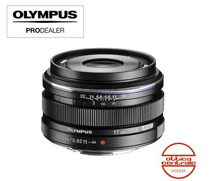 Obiettivo Olympus 17 mm f1,8