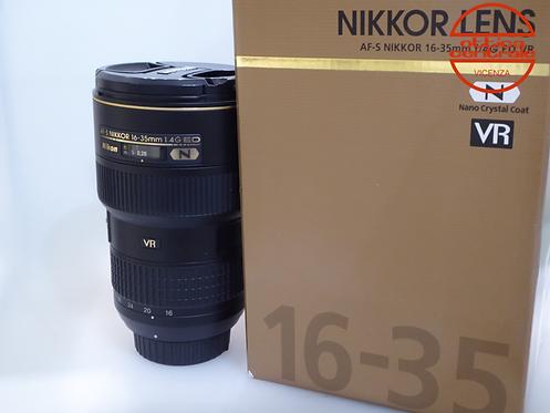 Obiettivo NIKON AF-S 16-35 VR 4.0G ED N