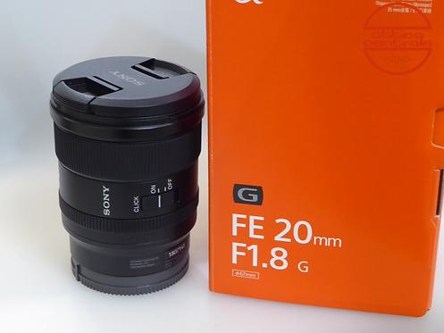 Obiettivo Sony  FE 20 1,8 G