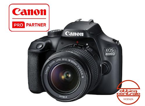 KIT Canon 4000D con 18-55