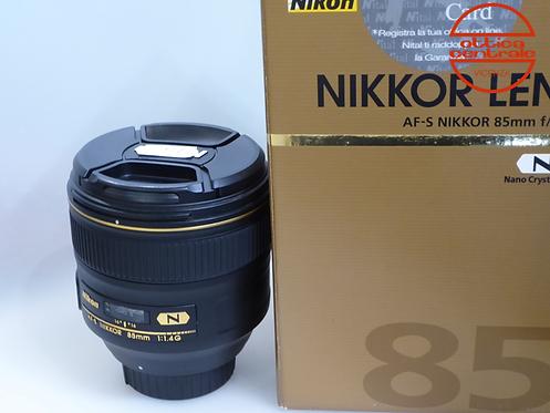 Obiettivo NIKON AF-S 85 mm f1,4G