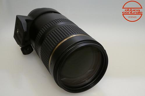Obiettivo Tamron 70-200 mm f/2,8 VC per Nikon