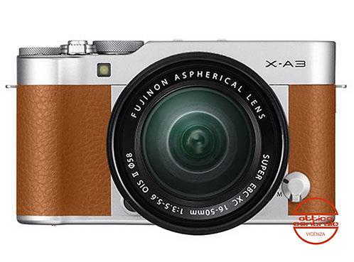 Fotocamera Fujifilm X-A3 Camel con 16-50 mm f3.5-5.6 OIS II