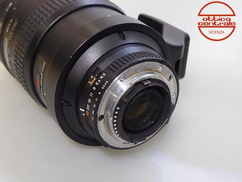 Obiettivo NIKON 80-400 AF VR 4.5/5.6D
