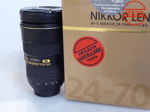 Obiettivo NIKON AF-S 24-70 28G ED, prodotto fotografico usato