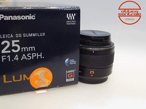 Panasonic SUMMILUX 25/1,4 ASPH, prodotto fotografico usato