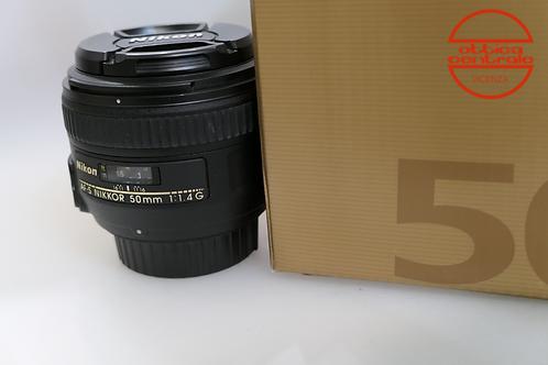 Obiettivo Nikon AF-S 50 1,4 G, prodotto fotografico usato