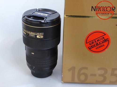 Obiettivo NIKON  AF-S 16-35mm f 4,0 G ED VR
