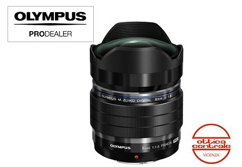 Obiettivo Olympus 8 mm f 1.8