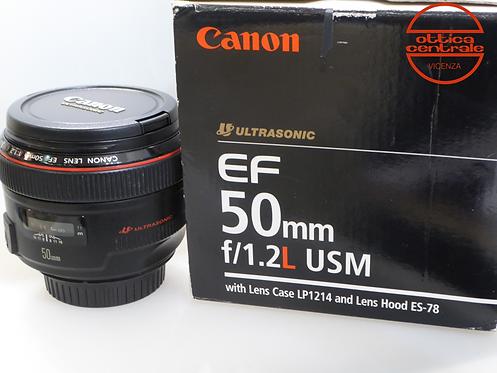 Obiettivo Canon EF 50 1,2 L USM
