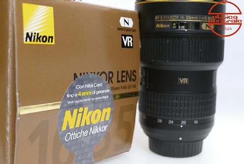 Obiettivo Nikon AF-S NIKKOR 16-35 mm f/4,0 G ED N