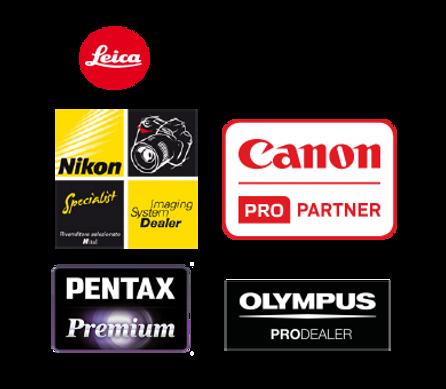 rivenditore italia di leica nikon pentax canon olympus pentax ottica centrale vicenza materiale fotografico