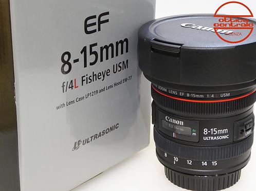 Obiettivo Canon EF 8-15 4,0 L USM