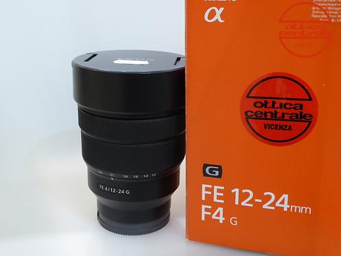 Obiettivo Sony FE 12-24/4,0 G