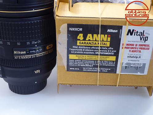 Obiettivo Nikon AF-S 24-120 4,0G ED N