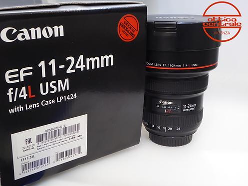 Obiettivo Canon EF 11-24 mm f/4 L USM, prodotto fotografico usato