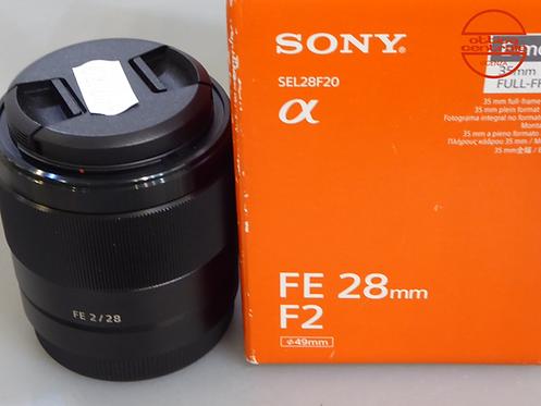 Obiettivo Sony FE 28 2,0