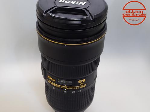 Obiettivo Nikon NIKON AF-S 24-70 2.8E ED VR