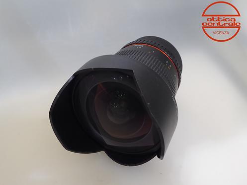 Obiettivo Samyang 14 mm 2.8 per Nikon