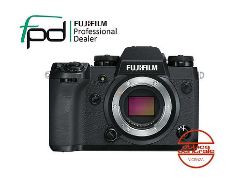 Fujifilm X-H1 Corpo Black, promozione prodotto fotografico