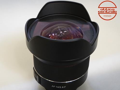 Obiettivo Samyang AF 14 2.8 F per Nikon