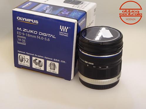 Obiettivo Olympus M.Zuiko 9-18 mm f 4,0-5,6 ED MSC