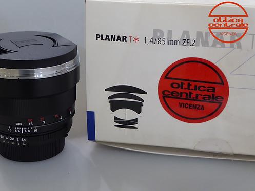 Obiettivo Zeiss PLANAR 85/1.4 ZF.2