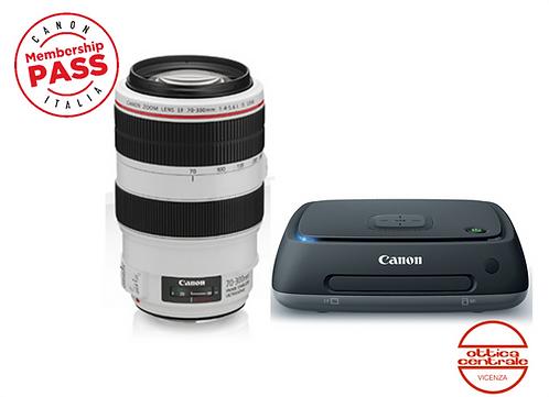 Obiettivo Canon EF 70-300mm f/4-5.6 L IS USM, offerta prodotto fotografico