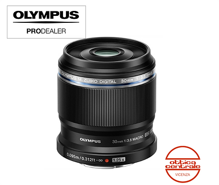 Obiettivo Olympus 30 mm f 3,5 Macro