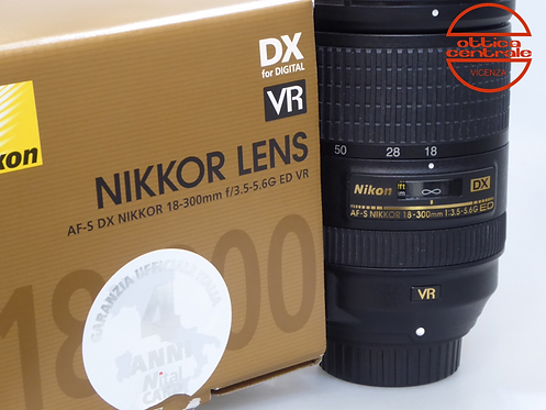 Obiettivo NIKON AF-S 18-300 mm f3.5-5.6 G ED VR