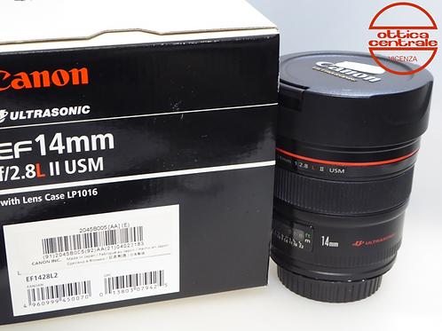 Obiettivo Canon 14 mm f/2,8 L II USM