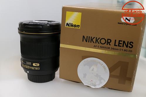 Obiettivo Nikon AF-S 24 1,8G ED N