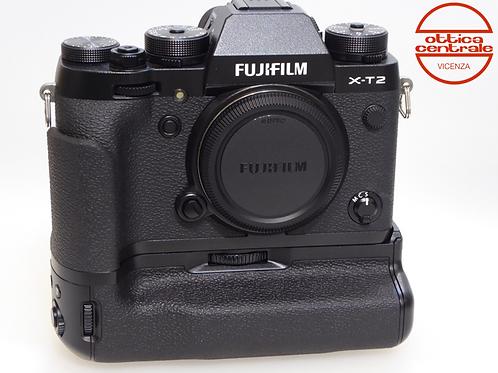 Fotocamera Fujifilm X-T2 con Impugnatura
