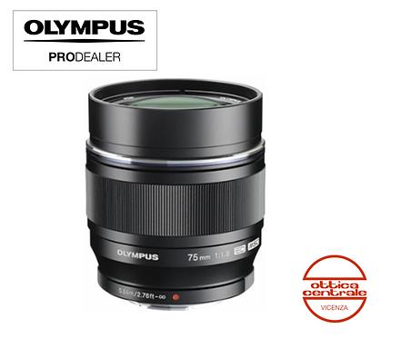 Obiettivo Olympus 75 mm f 1.8
