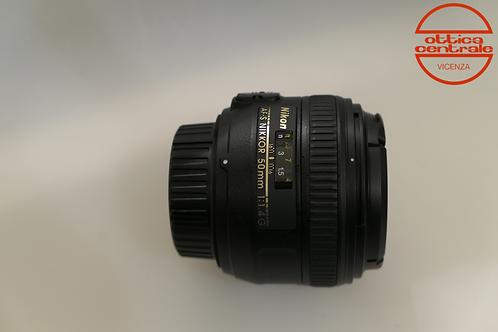 Obiettivo Nikon AF-S 50 1,4G