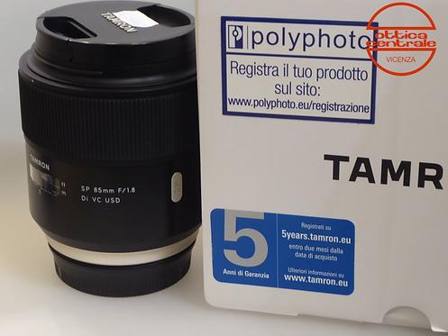 Obiettivo Tamron P 85 1,8 DI VC USD per Canon