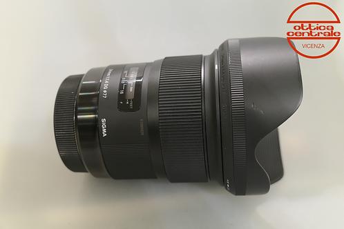 Obiettivo Sigma 24 1,4 DG HSM per Canon