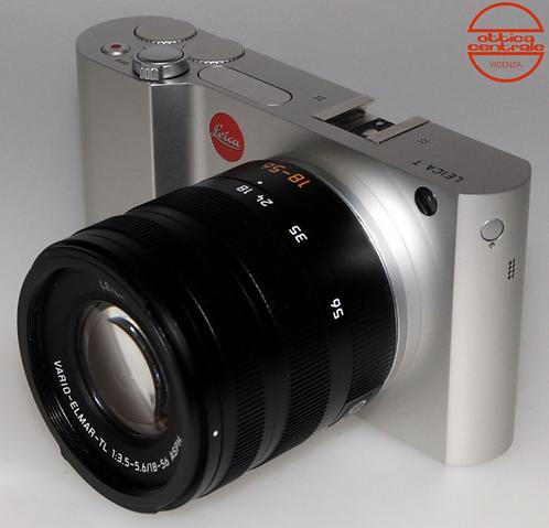 Fotocamera Leica T Titanio + ObiettivoVARIO ELMAR TL18-56 mm f/3.5-5.6 ASPH