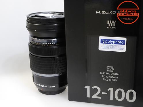 Obiettivo Olympus 12-100 mm f4,0 IS PRO