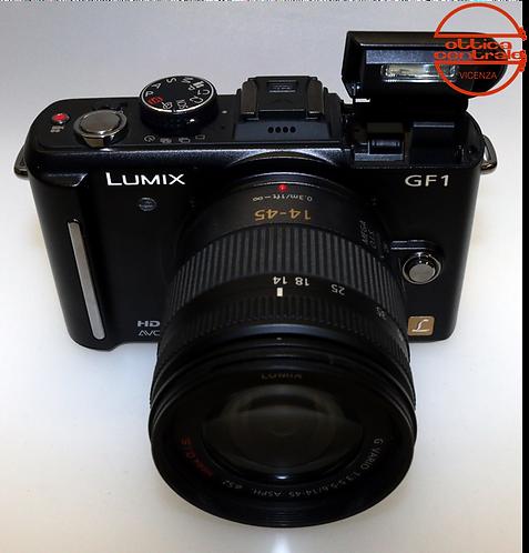 Fotocamera Panasonic Lumix DMC-GF1+ Obiettivo 14-45 mm f/3.5-5.6 Asph